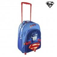 Plecak szkolny 3D z kółkami Superman 392