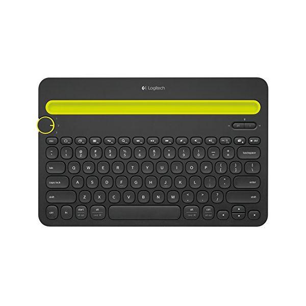 Bluetooth Klávesnice Logitech K480 Černý