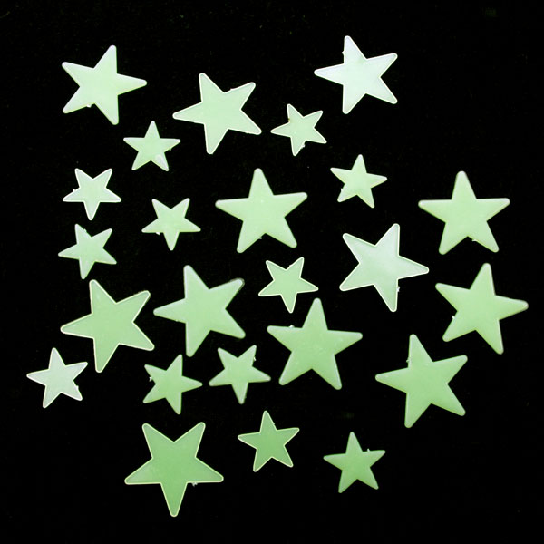 Svítící hvězdičky