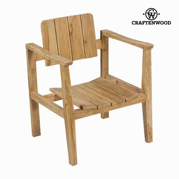 Krzesło z łokietnikami 62x58x80 cm - Pure Life Kolekcja by Craftenwood