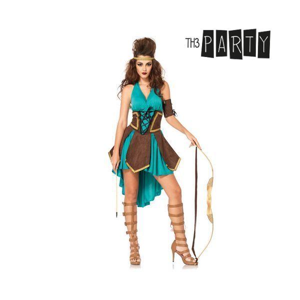 Kostým pro dospělé Th3 Party Sexy keltská bojovníčka - S