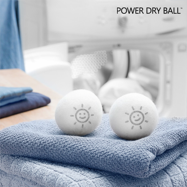 Lniane Kulki do Suszarki Power Dry Ball (2 sztuki)