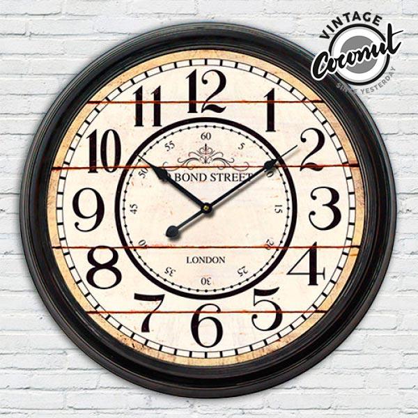Zegar Ścienny Stacja Londyn