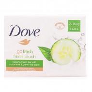 Szappan Készlet Go Fresh Dove (2 pcs)