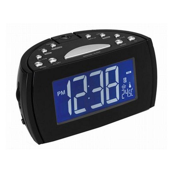 Radiobudík s LCD displejem Denver Electronics 224810 Černý