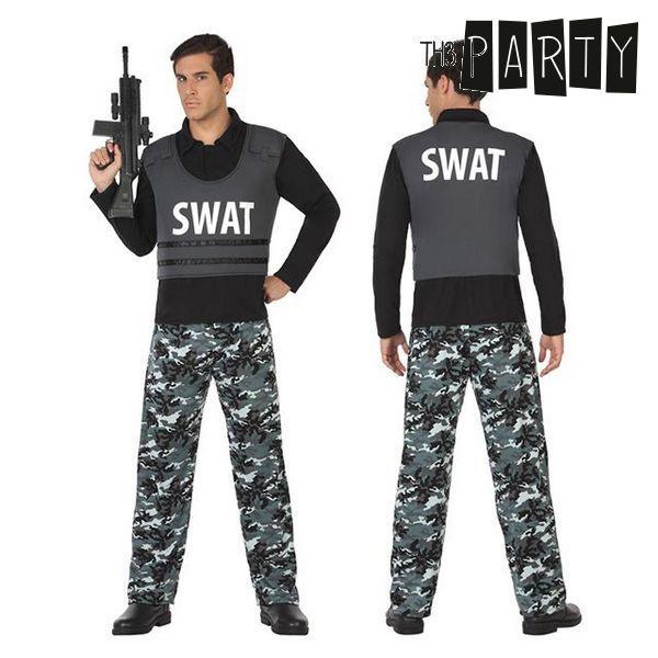 Kostým pro dospělé Th3 Party Swat policajt - XL