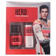 Zestaw Perfum dla Mężczyzn Hero Marc Marquez (2 pcs)