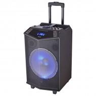 Prenosný reproduktor s Bluetooth Denver Electronics TSP-404 LED 40W Čierna