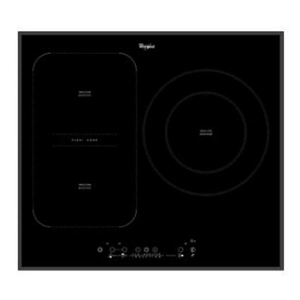 Indukční Plotýnka Whirlpool Corporation ACM875BA 58 cm Touch Control Černý (3 místo pro vaření)