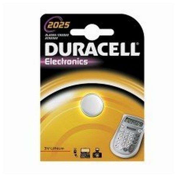 Lithium Button Cell Battery DURACELL DRB2025 CR2025 3V