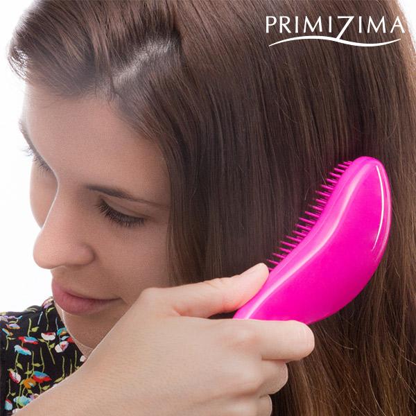 Rozčesávací Kartáč proti Lámání Vlasů Curved Primizima