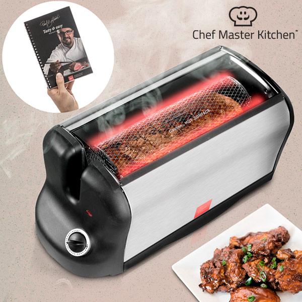 Piekarnik Elektryczny Przenośny Smart Rotisserie S z Książką Kucharską 600W