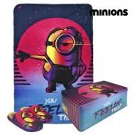 Pudełko metalowe z akcesoriami Minions 9798 3 pcs (rozmiar 32-33)