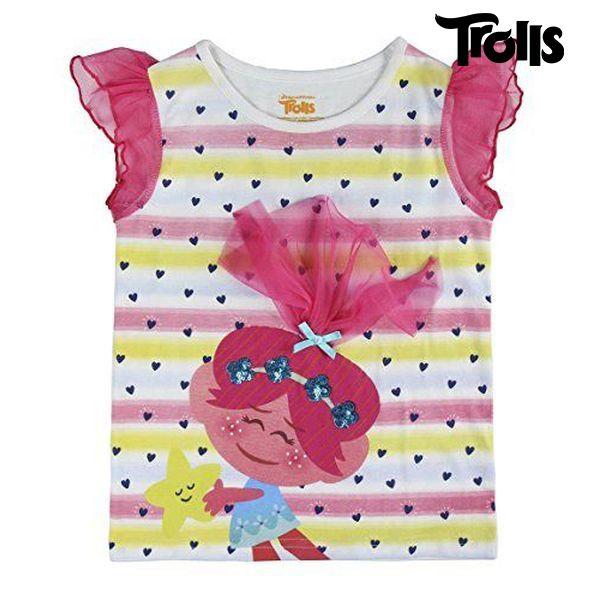 Koszulka z krótkim rękawem dla dzieci Trolls 8859 (rozmiar 5 lat)