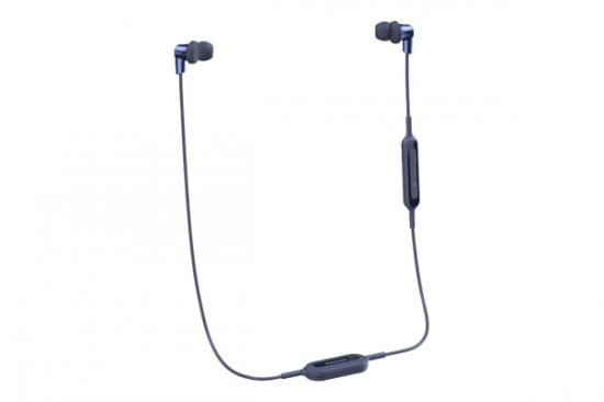 Sluchátka s Bluetooth Panasonic RP-NJ300BE-A Modrý