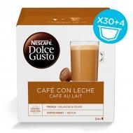 Kávové kapsule s puzdrom Nescafé Dolce Gusto (34 uds) Cafe au lait
