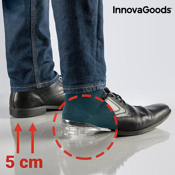 Silikonowe Podpiętki Podwyższające 5 x 1 cm InnovaGoods