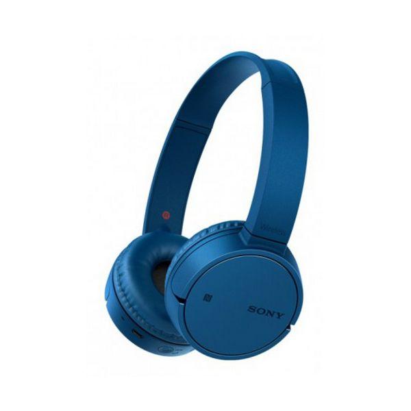 Sluchátka s Bluetooth Sony WHCH500L NFC Modrý