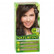 Barva na vlasy bez amoniaku Nº 4N Naturtint - Přirozená kaštanová  (5 ks)