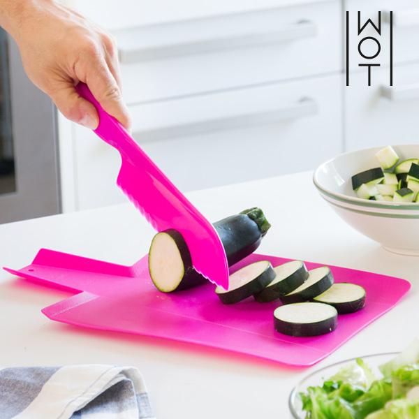 Elastyczna Deska Kuchenna z Nożem Wagon Trend