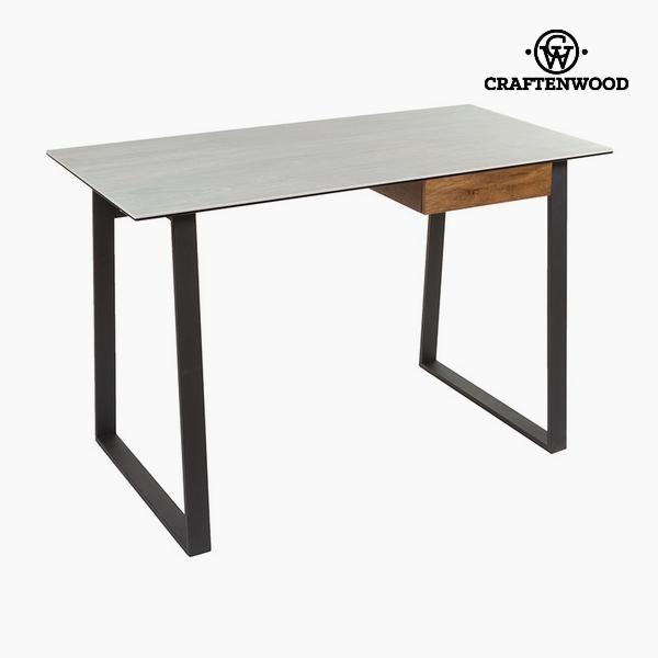 Psací stůl Keramika a sklo (120 x 60 x 75 cm) by Craftenwood