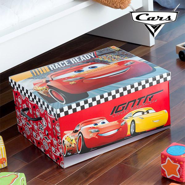Skládací Box na Hračky Auta (50 x 39 cm)