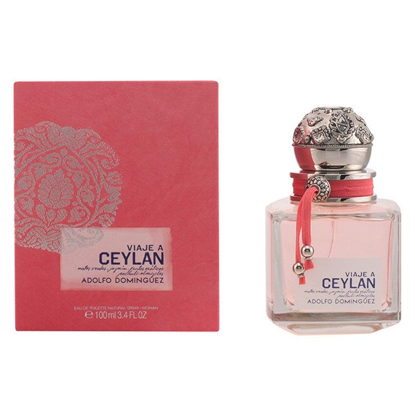 Perfumy Damskie Viaje A Ceylan Adolfo Dominguez EDT - 100 ml