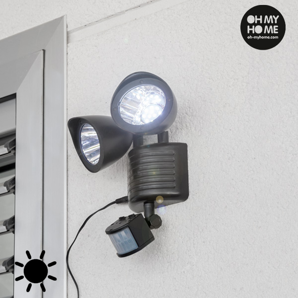 Lampa na Baterie Słoneczne z Czujnikiem Ruchu Garden Oh My Home