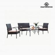 Pohovka a stůl (5 pcs) by Craftenwood