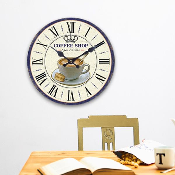 Zegar Ścienny Kawiarnia