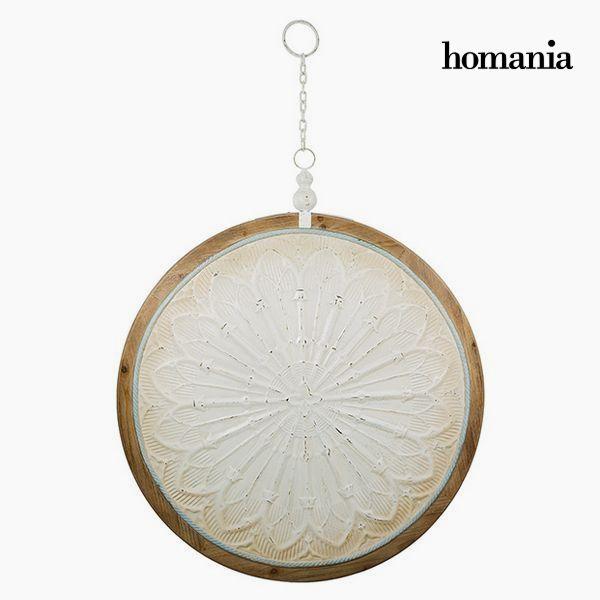 Závěsná ozdoba Kruhový Bílý Bronz (91 x 109 x 10 cm) by Homania