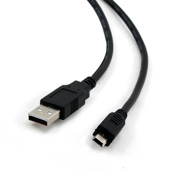 Kabel USB 2.0 A na Mini USB B iggual PSICCP-USB2-AM 1,8 m Černý