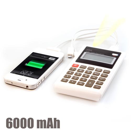 Kalkulator Power Bank 6000 mAh