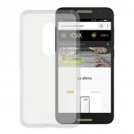 Puzdro na mobil Alcatel A7 Flex TPU Transparentná