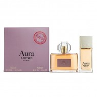 Souprava sdámským parfémem Aura Floral Loewe (2 pcs)