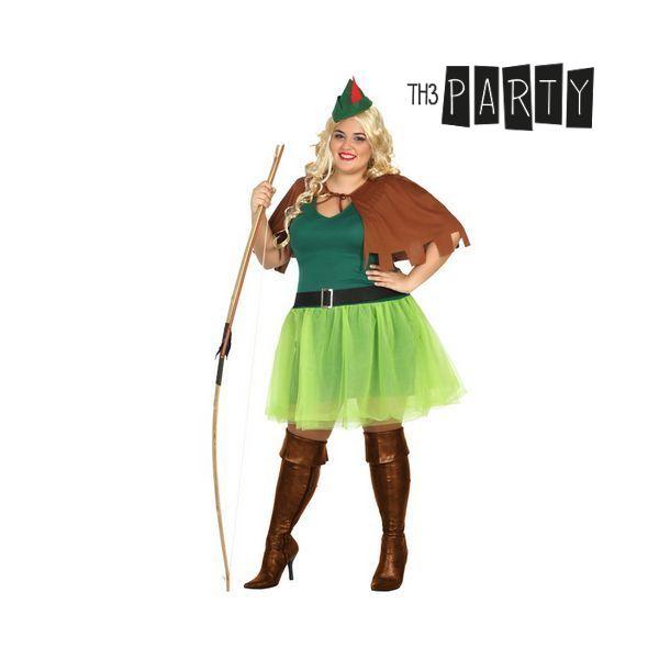 Kostým pro dospělé Th3 Party Lukostřelkyně - XS/S