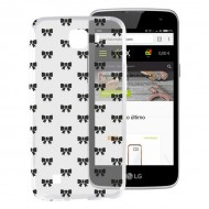 Pouzdro na mobily Lg K4 Flex TPU Motýlek