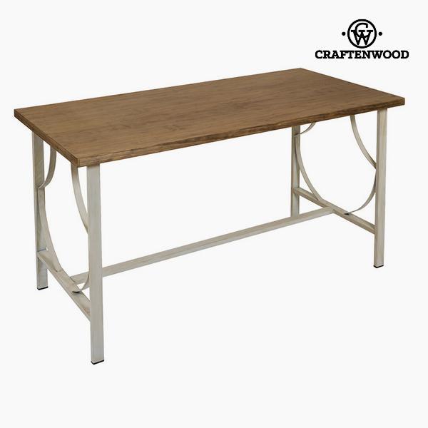 Desk Dřevo / kování Béžový - Serious Line Kolekce by Craftenwood