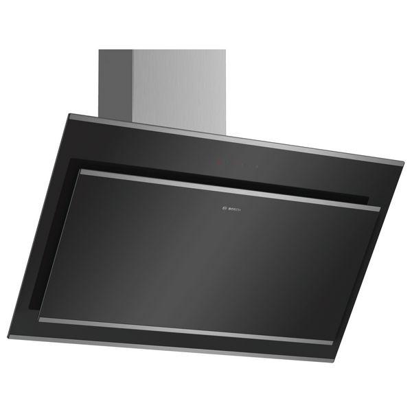 Okap konwencjonalny BOSCH 680m3h 90 cm Czarny Szkło