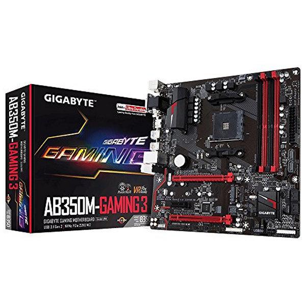 Płyta główna Gaming Gigabyte GA-AB350M Gaming 3 mATX AM4