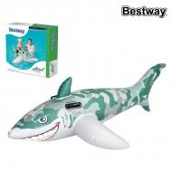 Nafukovací matrace Bestway 41092 (183 x 102 cm) Žralok