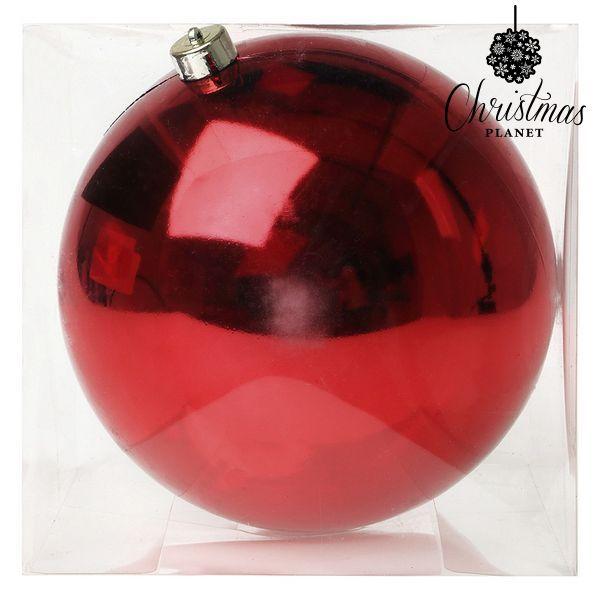 Vánoční koule Christmas Planet 7407 20 cm Červený
