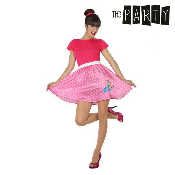 Kostým pro dospělé Th3 Party 50 let Růžový - XS/S