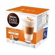 Kávové kapsule s puzdrom Nescafé Dolce Gusto 24191 Latte Macchiato (16 uds) Karamelová