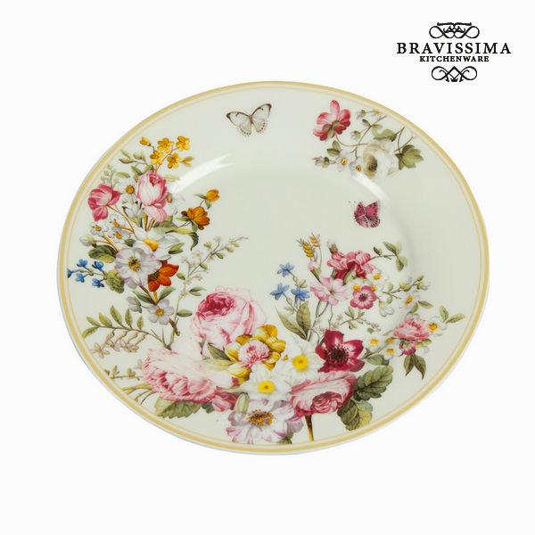 Plochá doska Porcelana (Ø 19 cm) - Kitchen's Deco Kolekcja by Bravissima Kitchen