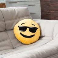 Poduszka Emotikona Cool
