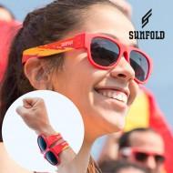 Rolovací Sluneční Brýle Sunfold Mondial Spain Red