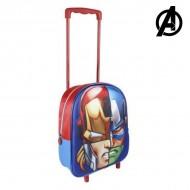 Plecak szkolny 3D z kółkami The Avengers 8041