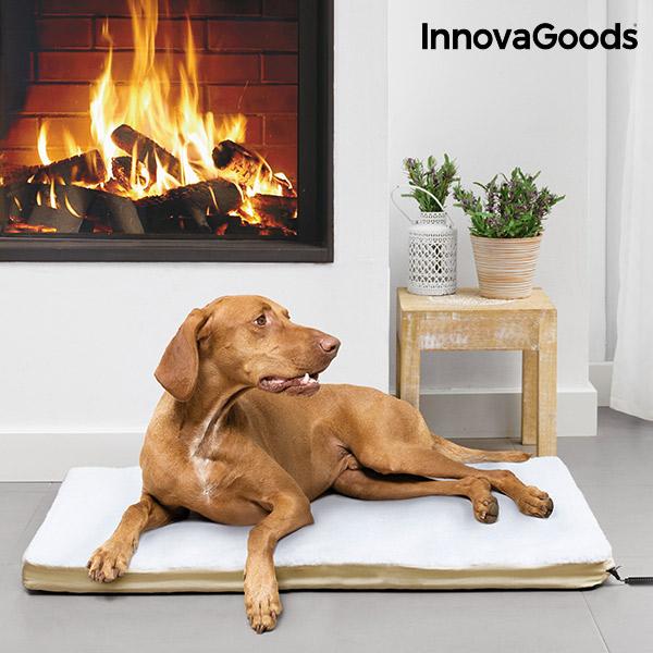 Elektrický Vyhřívaný Pelíšek pro Velké Domácí Mazlíčky InnovaGoods 18 W