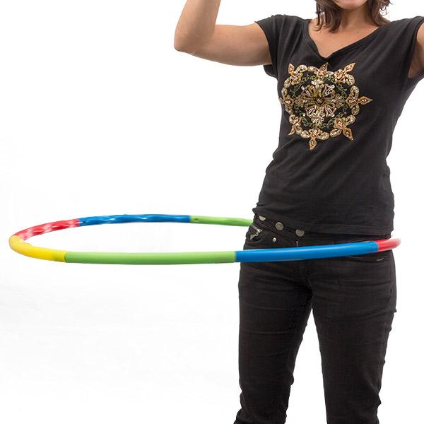 Skládací Obruč Hula-Hoop na Cvičení